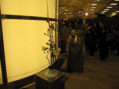 東海東京証券プレミア美術展 いけばな草月LIVE_c0165824_10421943.jpg