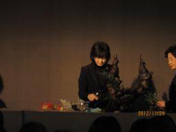 東海東京証券プレミア美術展 いけばな草月LIVE_c0165824_1093131.jpg