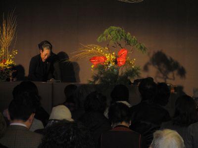 東海東京証券プレミア美術展 いけばな草月LIVE_c0165824_15152525.jpg
