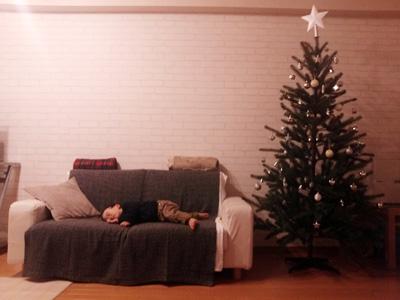 Christmas tree☆_a0143444_22105778.jpg