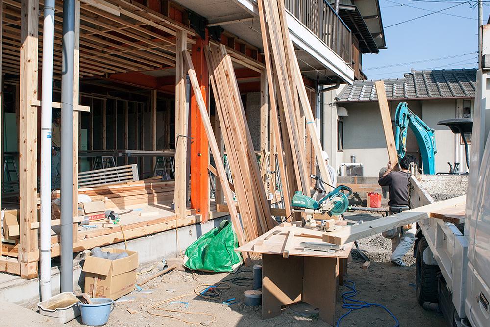 店舗を兼ねた1階フロアの全面改装〜その2〜_a0163962_974613.jpg