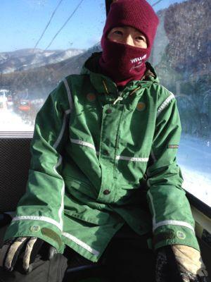 北海道三日目☆札幌国際スキー場_c0151965_16282899.jpg