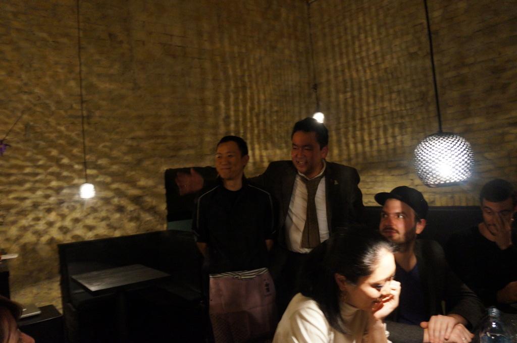 アンペルフラウのラベルも可愛い発泡日本酒PF、ベルリンデビューしました!_c0180686_2325274.jpg