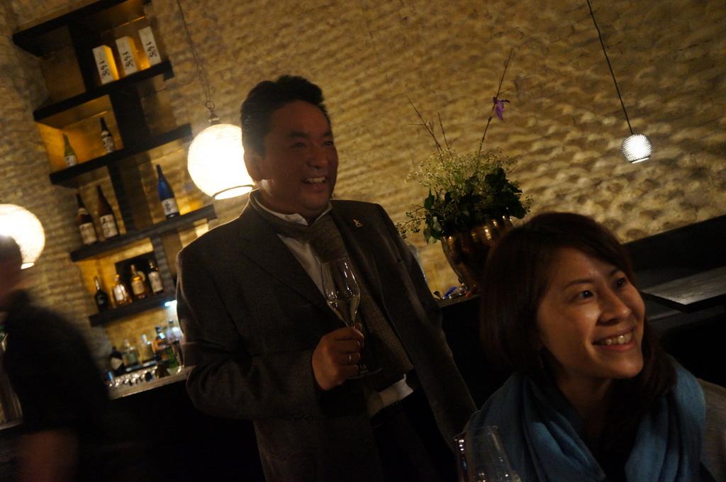 アンペルフラウのラベルも可愛い発泡日本酒PF、ベルリンデビューしました!_c0180686_23271128.jpg