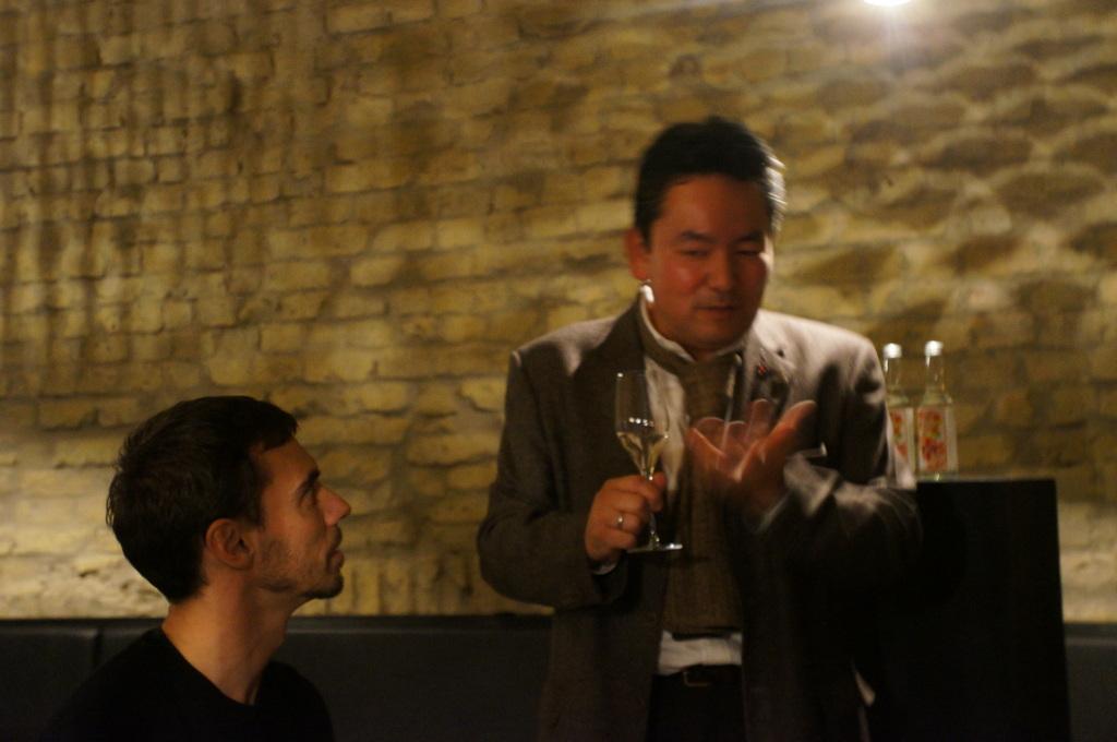 アンペルフラウのラベルも可愛い発泡日本酒PF、ベルリンデビューしました!_c0180686_232717.jpg