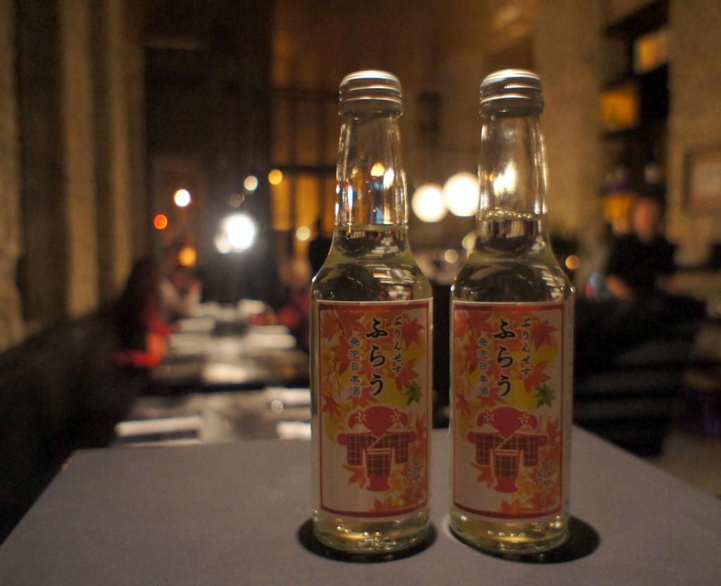 アンペルフラウのラベルも可愛い発泡日本酒PF、ベルリンデビューしました!_c0180686_2330505.jpg