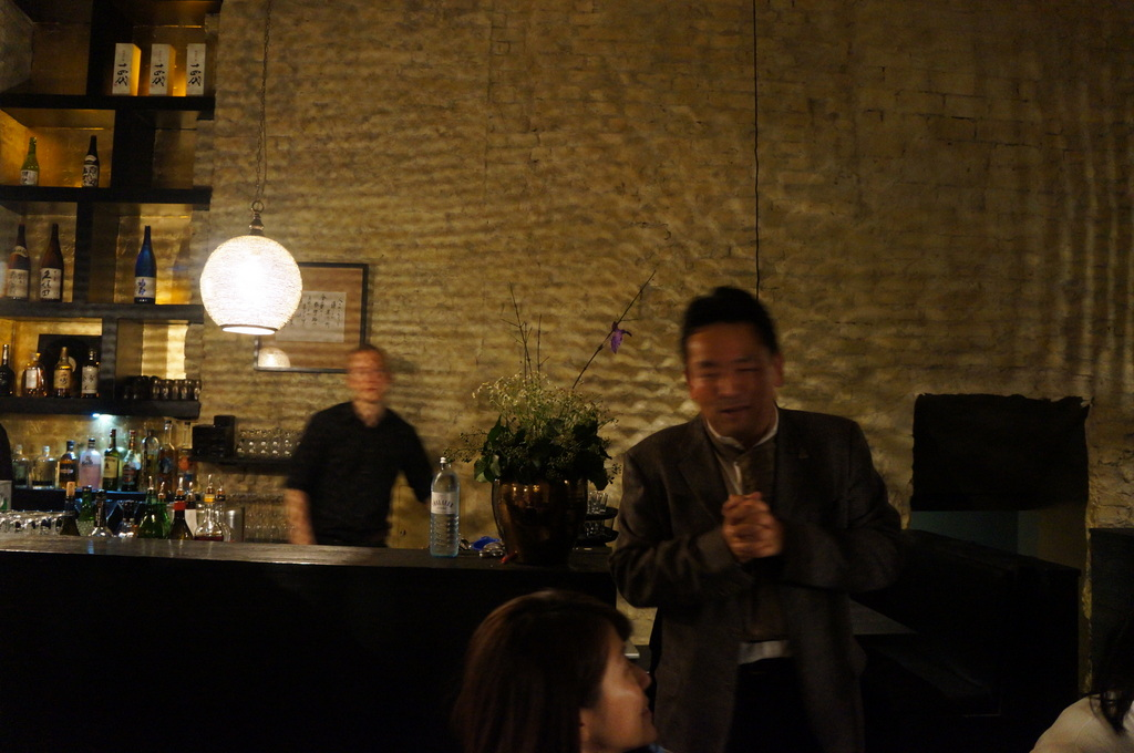 アンペルフラウのラベルも可愛い発泡日本酒PF、ベルリンデビューしました!_c0180686_23452137.jpg