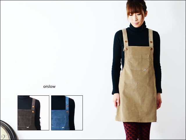 orslow [オアスロウ] OVER ALL ONE PIECE [00-9600] LADY\'S_f0051306_21285355.jpg