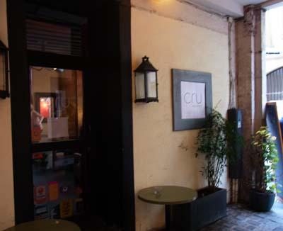 Cru(生)にこだわったレストラン -Paris日記_f0134809_23442729.jpg