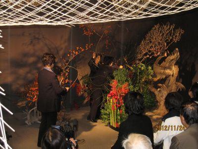 東海東京証券プレミア美術展 いけばな草月LIVE_c0165824_17451567.jpg