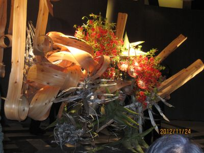 東海東京証券プレミア美術展 いけばな草月LIVE_c0165824_17465295.jpg