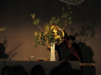 東海東京証券プレミア美術展 いけばな草月LIVE_c0165824_17523722.jpg