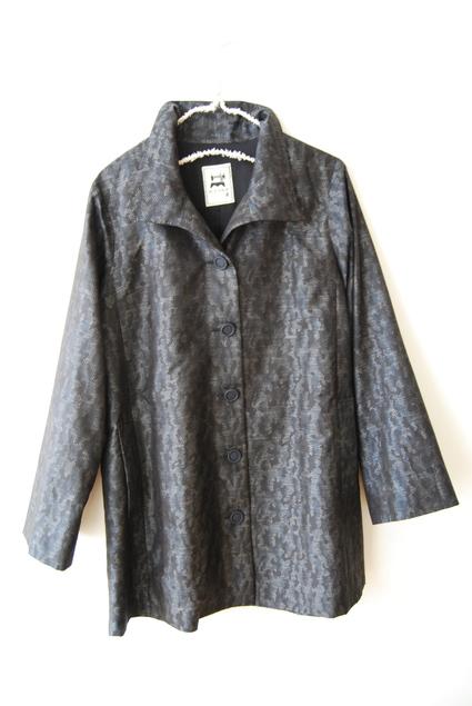 着物リメイク・大島紬のコート_d0127925_1638401.jpg