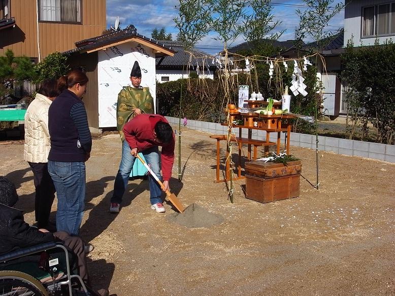 石岡の家 地鎮祭 2012/11/27_a0039934_17395065.jpg