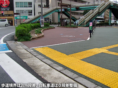 歩道事情  徳島・高松・岡山市_c0167961_1514875.jpg