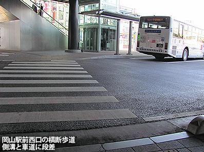 歩道事情  徳島・高松・岡山市_c0167961_1545246.jpg