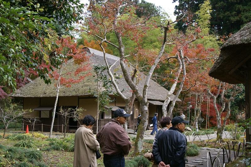 西山荘の紅葉 常陸太田市_b0183886_1445245.jpg