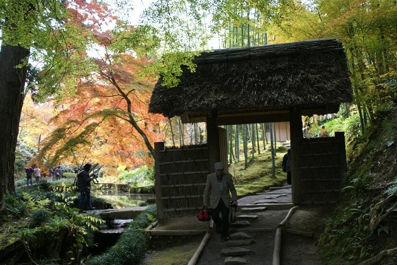 西山荘の紅葉 常陸太田市_b0183886_9324913.jpg