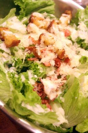 蕪と粒マスタードのサラダ & ボリューミーな夕食_f0141419_5534818.jpg