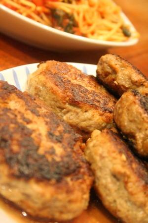 蕪と粒マスタードのサラダ & ボリューミーな夕食_f0141419_5535677.jpg