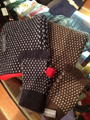 ニット手袋 &マフラー_b0273362_2025960.jpg