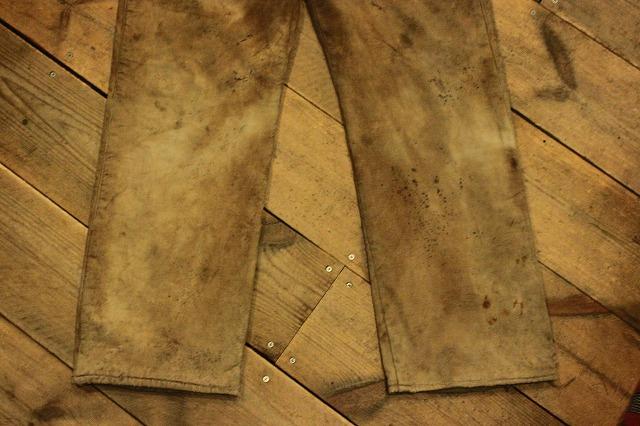 SPECIAL!! BROWN CANVAS WORK PANTS!_d0121303_2001414.jpg