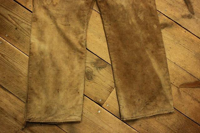SPECIAL!! BROWN CANVAS WORK PANTS!_d0121303_2002720.jpg