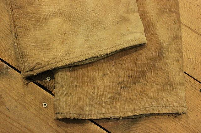 SPECIAL!! BROWN CANVAS WORK PANTS!_d0121303_2003826.jpg
