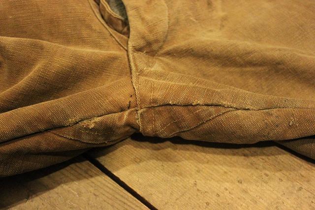 SPECIAL!! BROWN CANVAS WORK PANTS!_d0121303_2021558.jpg