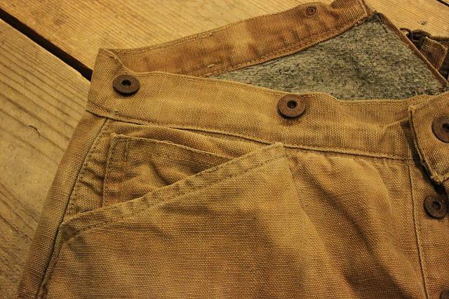 SPECIAL!! BROWN CANVAS WORK PANTS!_d0121303_2022796.jpg