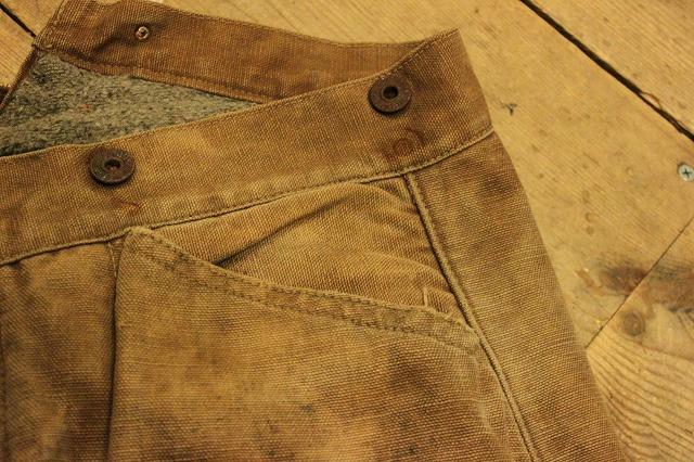 SPECIAL!! BROWN CANVAS WORK PANTS!_d0121303_2023860.jpg