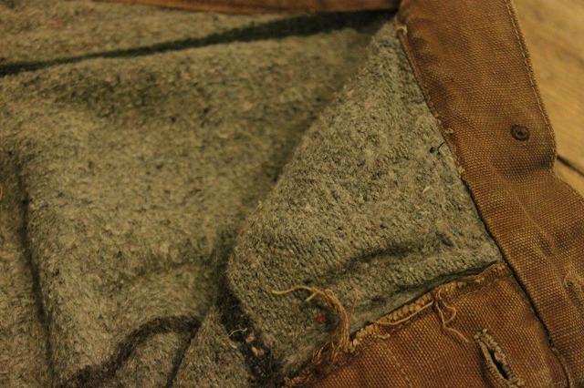 SPECIAL!! BROWN CANVAS WORK PANTS!_d0121303_204434.jpg