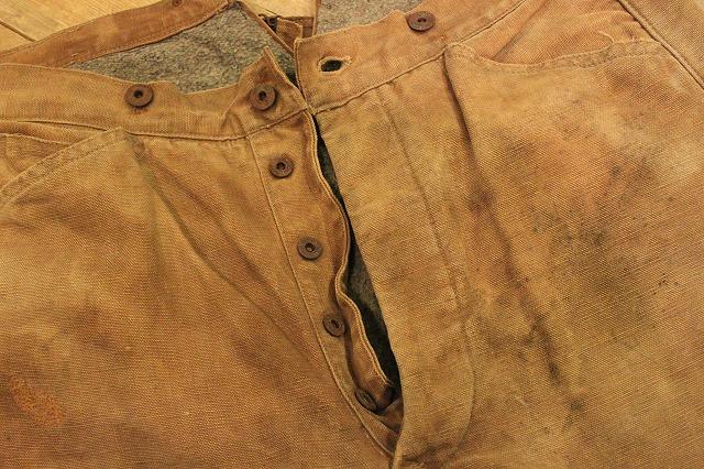 SPECIAL!! BROWN CANVAS WORK PANTS!_d0121303_2045462.jpg
