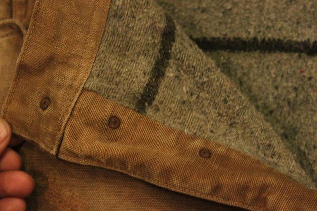 SPECIAL!! BROWN CANVAS WORK PANTS!_d0121303_2045815.jpg