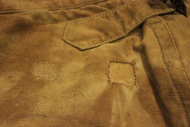 SPECIAL!! BROWN CANVAS WORK PANTS!_d0121303_206473.jpg