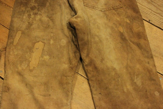 SPECIAL!! BROWN CANVAS WORK PANTS!_d0121303_206479.jpg
