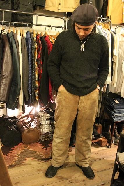 SPECIAL!! BROWN CANVAS WORK PANTS!_d0121303_2073938.jpg