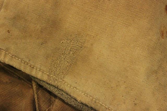 SPECIAL!! BROWN CANVAS WORK PANTS!_d0121303_207746.jpg