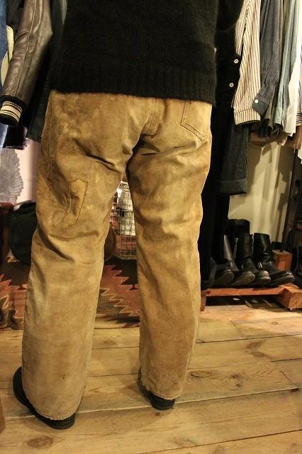 SPECIAL!! BROWN CANVAS WORK PANTS!_d0121303_208242.jpg