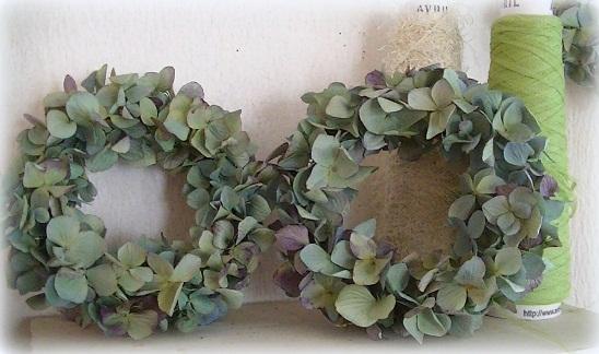 ブルー紫陽花シンプルリース_c0207719_19232433.jpg