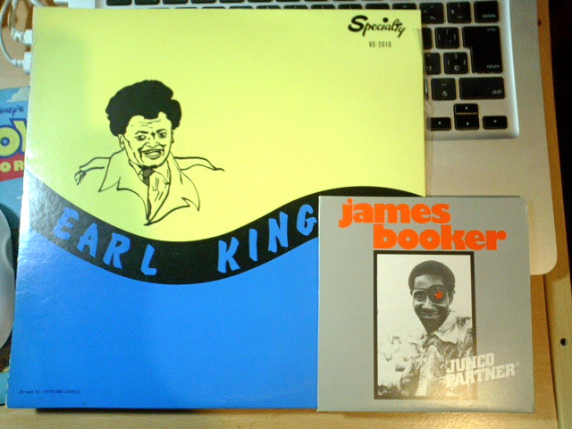 James BookerとEarl King。_a0168922_21202749.jpg