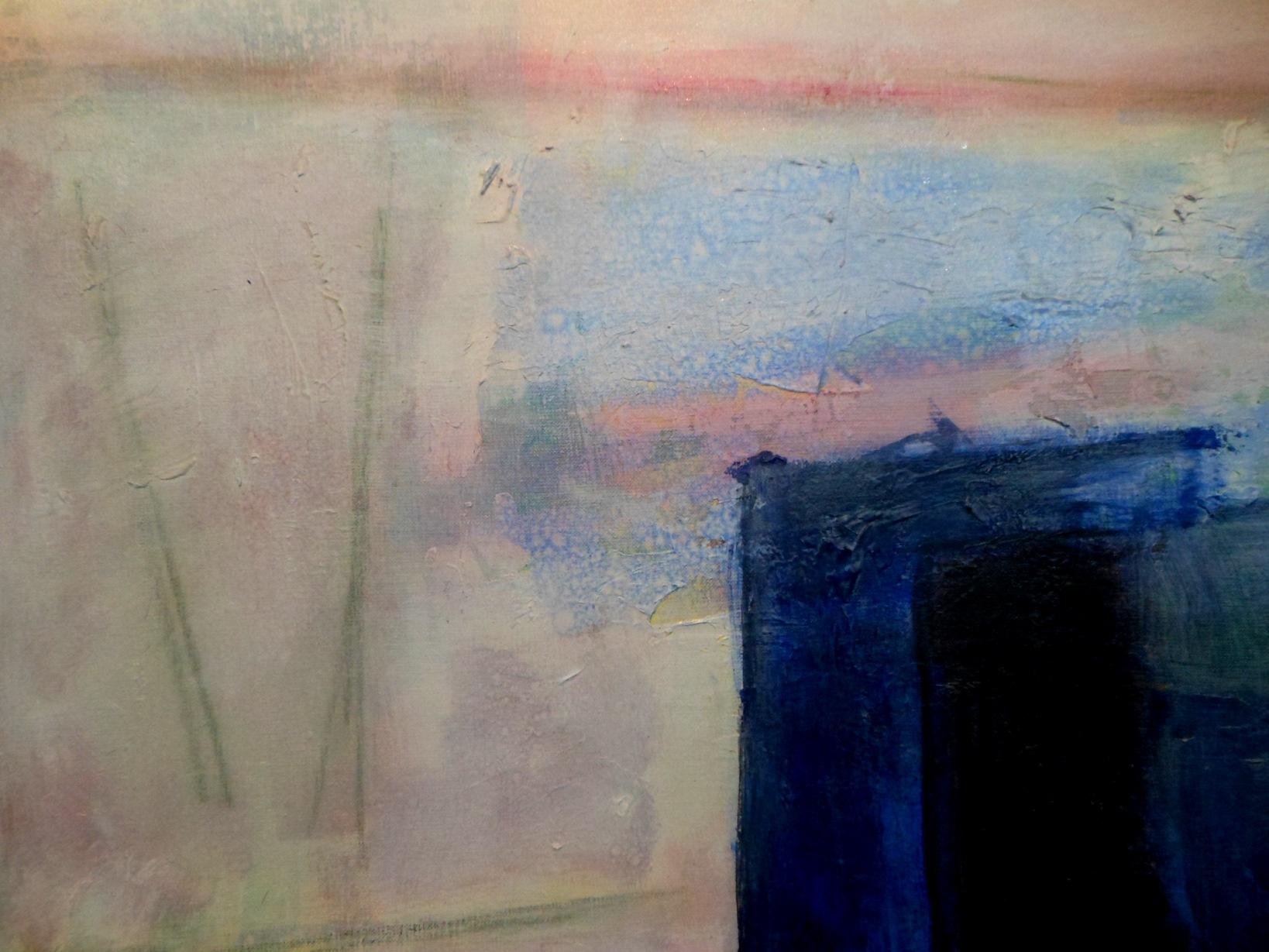 ↑:(部分図。) 朝の食卓のようなムード。建物の白壁がイメージの出発だ...  ②「春陽会 道作