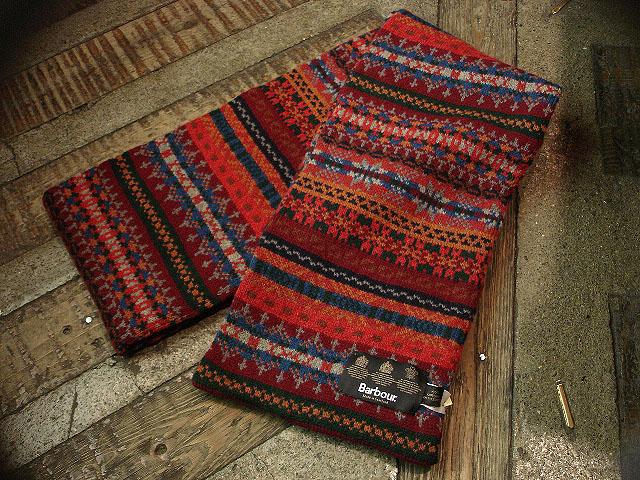melrose scarf red
