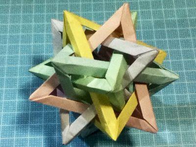 簡単 折り紙 折り紙 三角錐 : charlie24k.exblog.jp