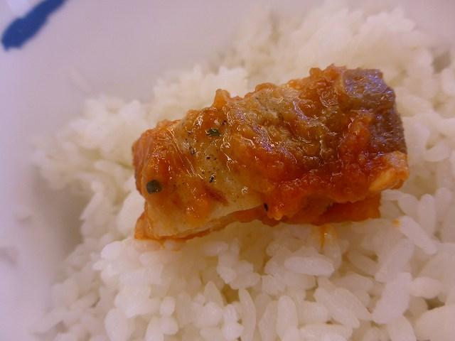 松屋のチキントマトガーリック定食  伊丹店_c0118393_11584570.jpg
