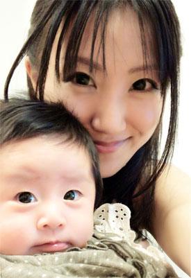 産後2ヶ月半のカラダと食事。「きゃはは!」が聞きたい夫婦(笑)_d0224894_19233074.jpg