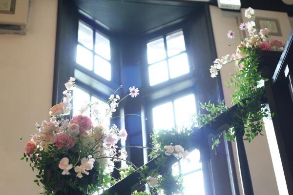 シェ松尾松濤レストラン様の装花 冬と春_a0042928_18164085.jpg