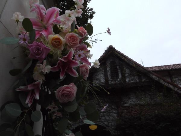 シェ松尾松濤レストラン様の装花 冬と春_a0042928_18171488.jpg