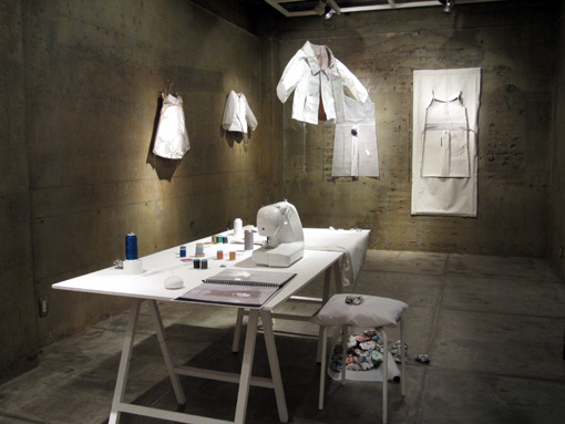 田邉結佳 Special Solo Exhibition 始まりました。_c0096440_6175691.jpg