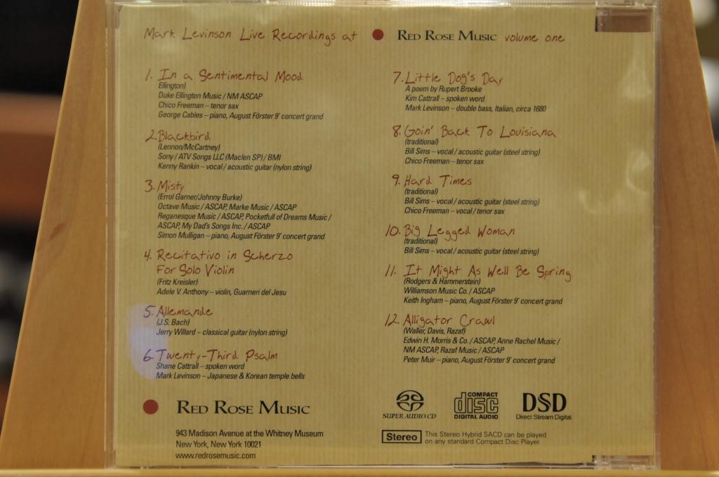 Mark Levinson のSACD+LP_e0213363_23432157.jpg